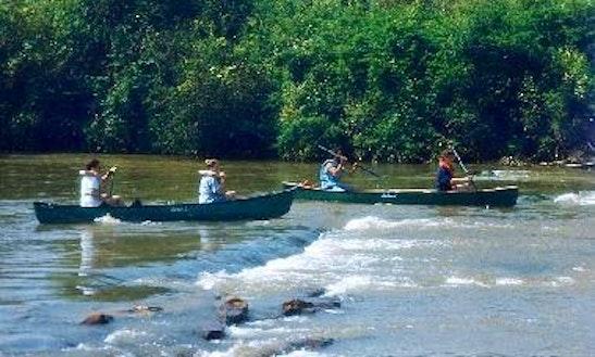Canoe Trips On New River