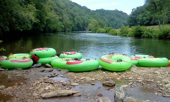 Tube Float Trips On The Beautiful New River
