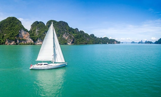 Enjoy 104 Ft Sailing Yacht Charter In Phuket