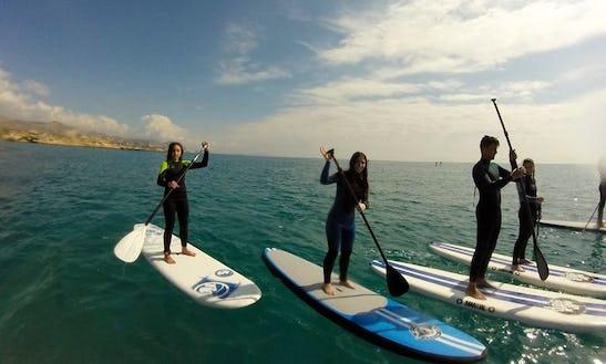 Paddleboard Rental & Lessons In El Campello, Spain