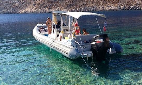 25' Rib Diving In Iraklio, Greece