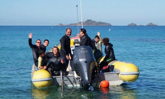 Rib Diving Trips In Ajaccio, France
