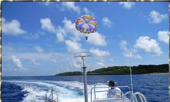 Parasailing Flights In Flowers Bay