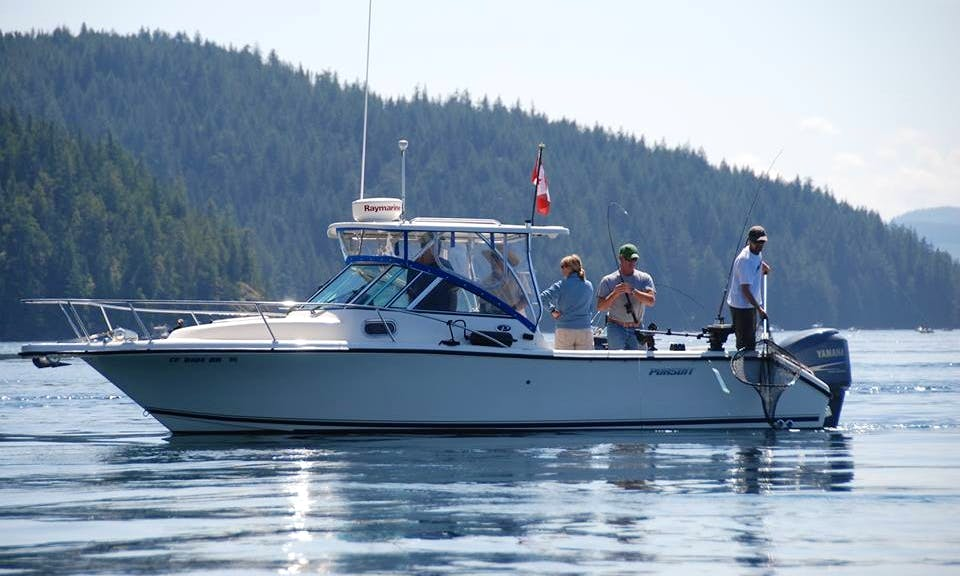 Pursuit OS255 Guided Fishing boat