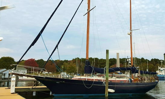 Charter 42' Cheoy Lee Cruising Monohull In Polly Cove, Virginia