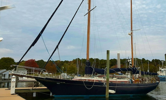 Charter 42' Cheoy Lee Cruising Monohull In Polly Cove, Virginia