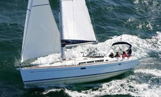 Sailing Charter On 45' Jeanneau Sun Odyssey Yacht In Rossaveal Harbour, Ireland