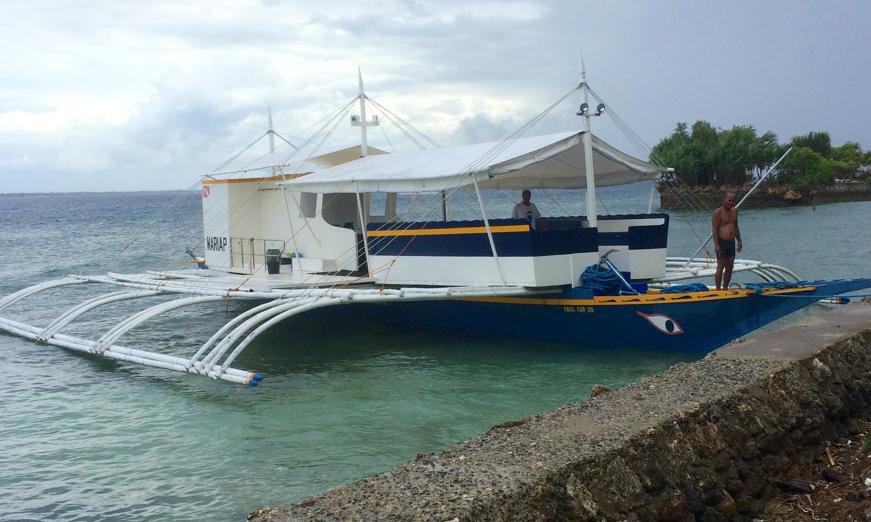 70' Large Upgraded Comfortable Bangka Boat in Lapu-Lapu City