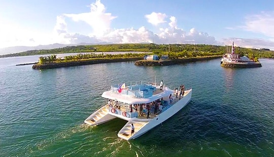 Charter A 72' Evercat Ec Sailing Catamaran In Central Visayas, Philippines