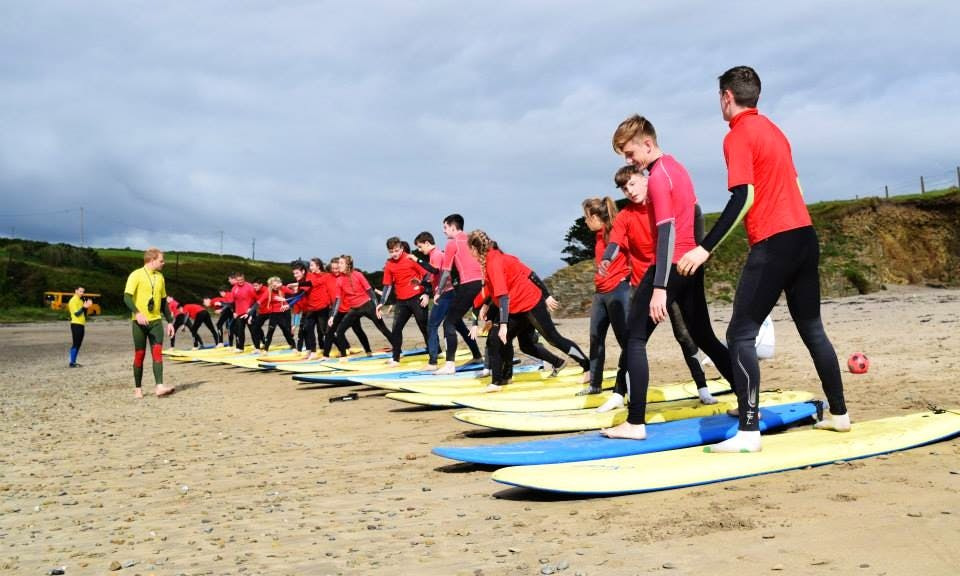 Learn to Surf In Inch Beach