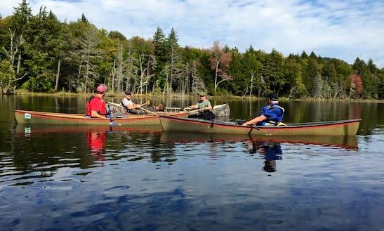 Canoe/kayak Trips Near Tupper Lake, New York