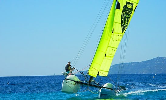 Learn To Sail In Le Lavandou, France