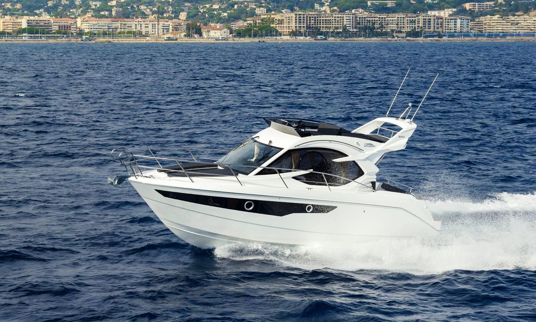 30' Motor Yacht Rental in Midi-Pyrénées, France