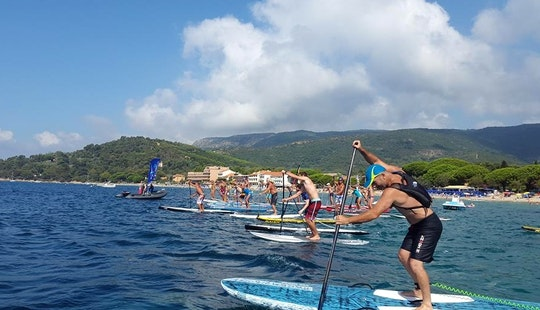 Easy To Use Paddleboard For Rent In Le Lavandou, France