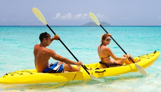 Clean And Stable Tandem Kayak For Rent In Le Lavandou, France
