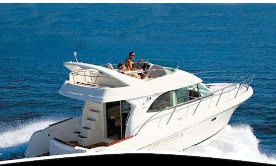 Charter Jeanneau Prestige 36 Motor Yacht In Lisboa, Portugal