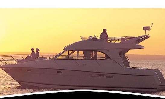 Charter Jeanneau Prestige 36 Powwer Boat In Lisboa