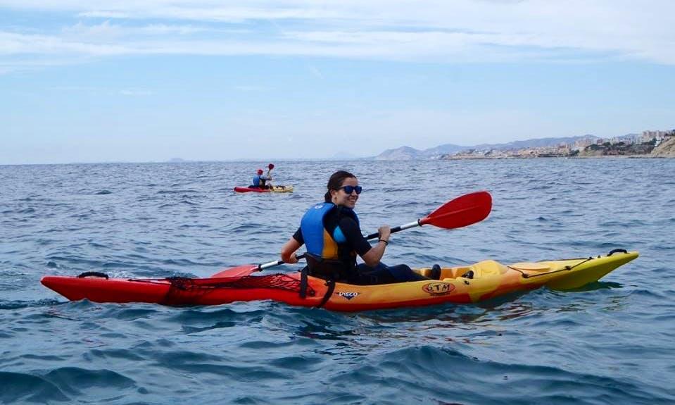 Ride a Kayak in Villajoyosa, Spain