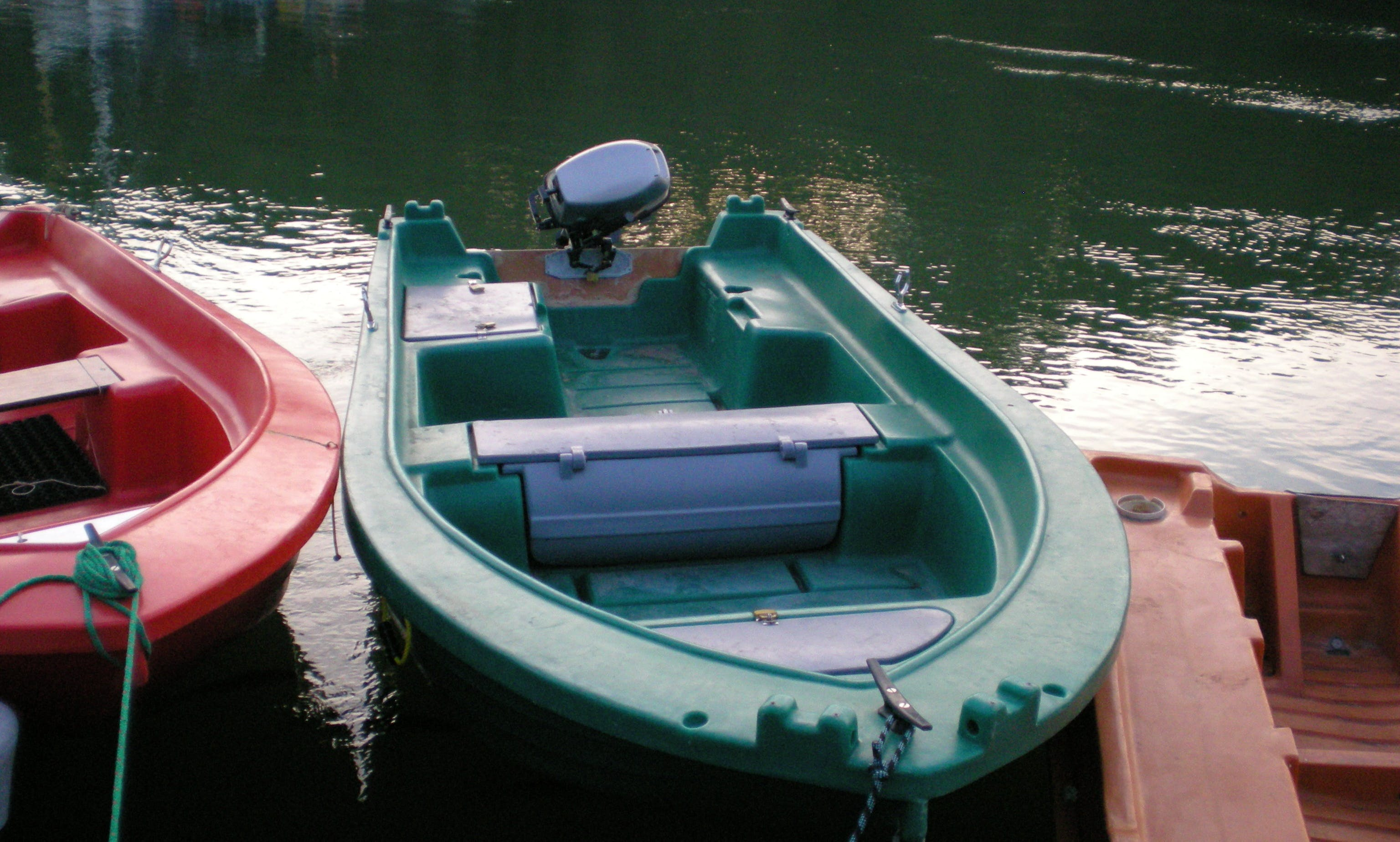 Fun Yak 3.75 Dinghy Rental in Bono