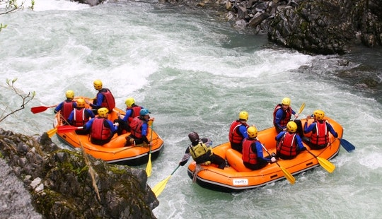 Discover Rafting In Passy