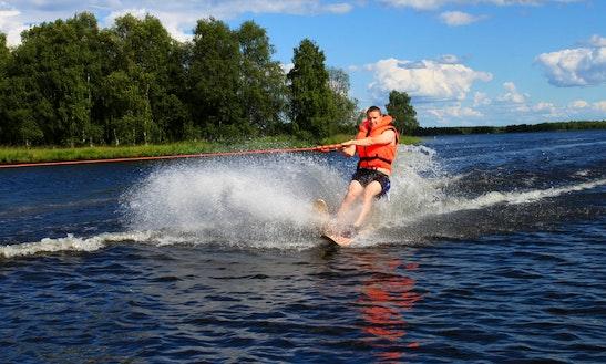 Water Skiing In Biscarrosse