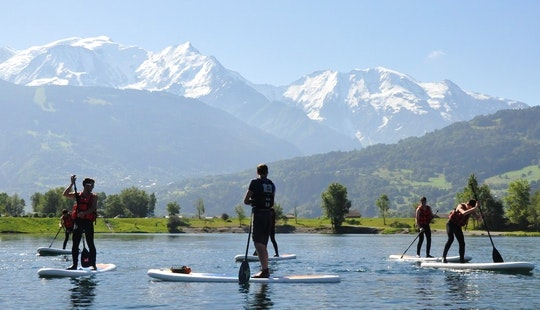 Stand Up Paddleboarding On The Arve
