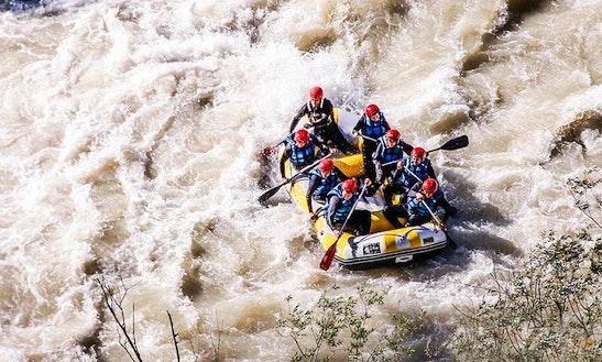 White Water Rafting On Genil River