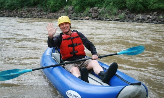Single Kayak Rental & Trips In Glenwood Springs, Colorado