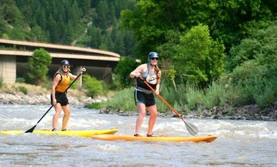 Paddleboard Rental & Trips In Glenwood Springs, Colorado
