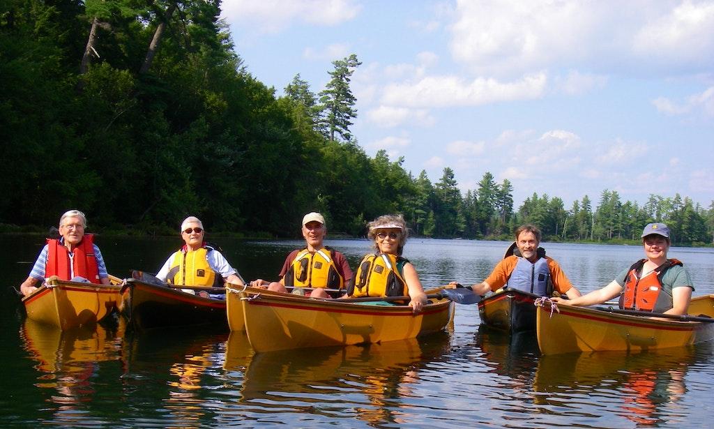 Canoekayak trips near tupper lake new york getmyboat for Fishing trips nyc
