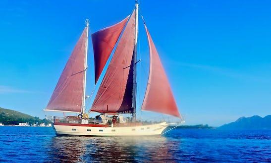 Classic Sailing Boat
