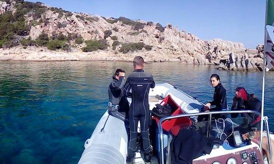 Scuba Diving In Arcipelago Di La Maddalena