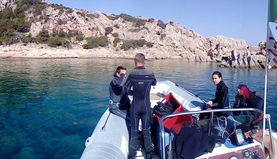 Scuba Diving In Arcipelago Di La Maddalena