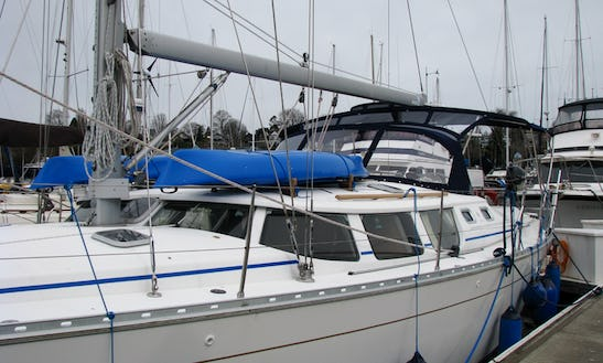 43ft Jeanneau Sun Odyssey 43ds Sailboat Charter In Bellingham, Washington