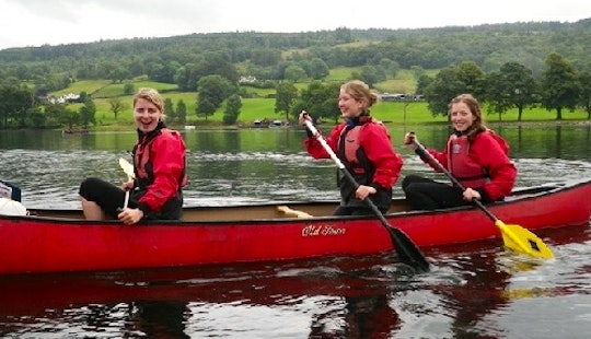 Canoe Lessons In Coniston