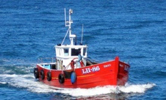 Center Console Fishing Charter In Seahouses