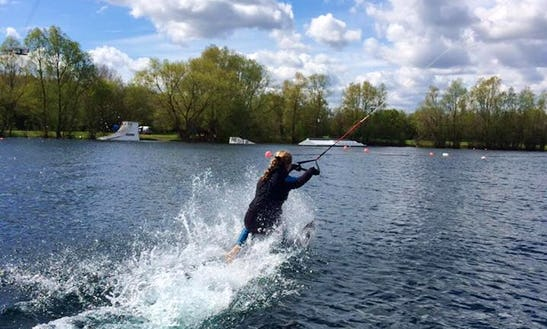 Wakeboarding In Datchet