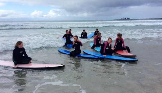 Surf Lessons In Port Fairy