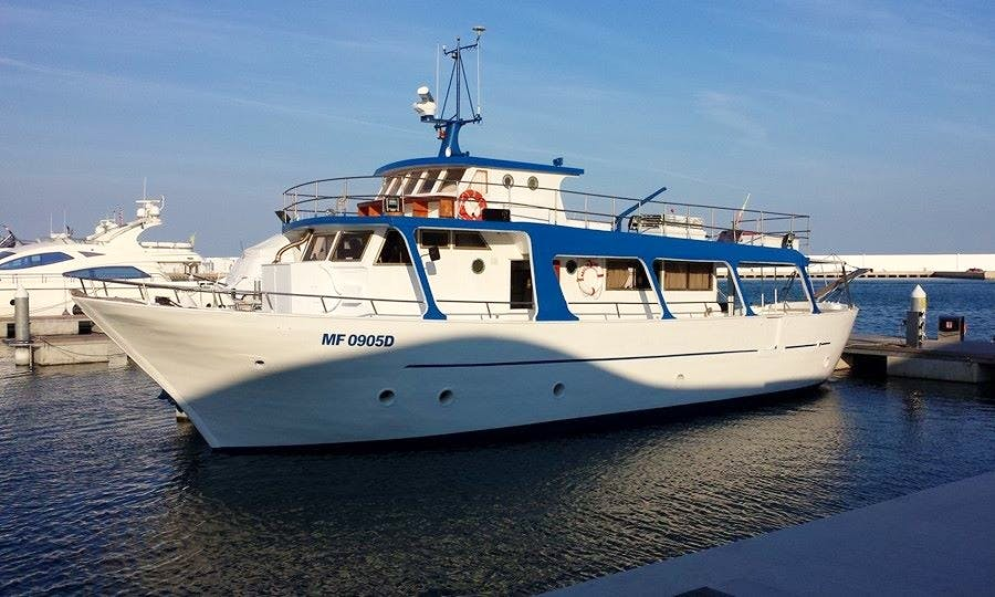 'Marlin One' Cruising in Rodi Garganico