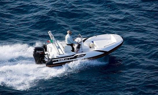 'zar' 47 Boat Hire In Rodi Garganico