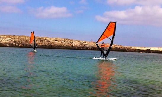 Wind Surfing Lessons In Corralejo