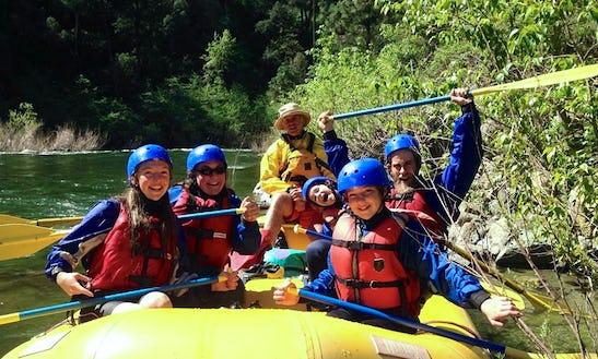 Raft In Mount Shasta