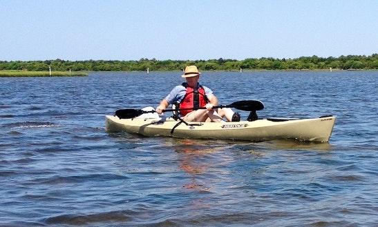 Kayak Paddling In Stump Sound