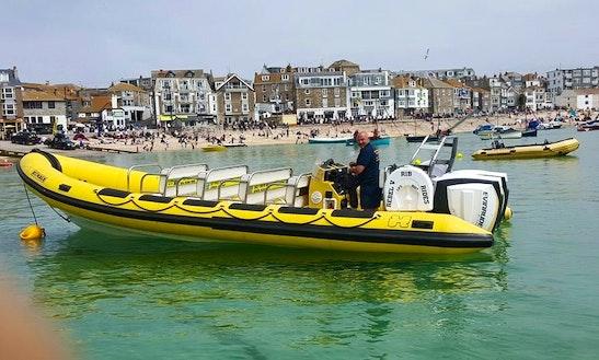 'rebel V' Rib Ride Charter In Carbis Bay