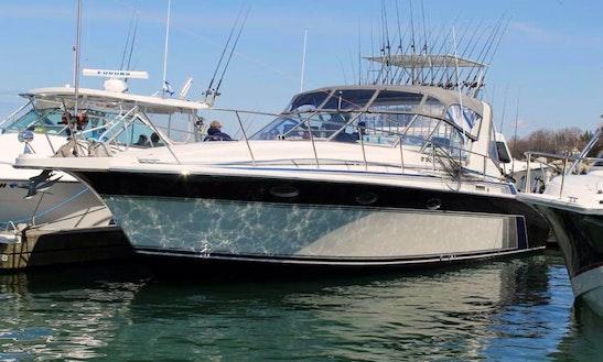 40′ Trojan Express Salmon Fishing Charter Niagara Falls Canada