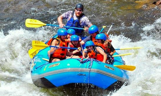Raft In Estes Park