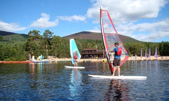 Windsurfing Hire In Glenmore Forest Park, Ph22 1 Aviemore