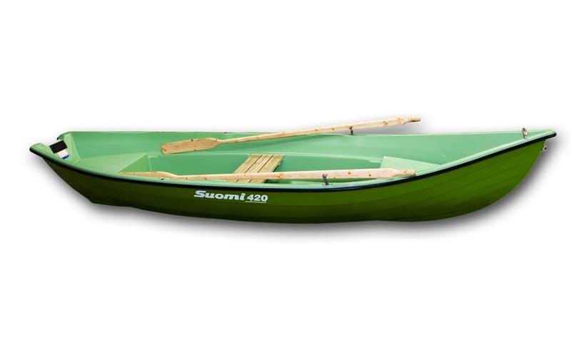Suomi 420 Row Boat Rental in Savonlinna, Finland