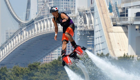 Come And Try Flyboarding In Muang Pattaya!