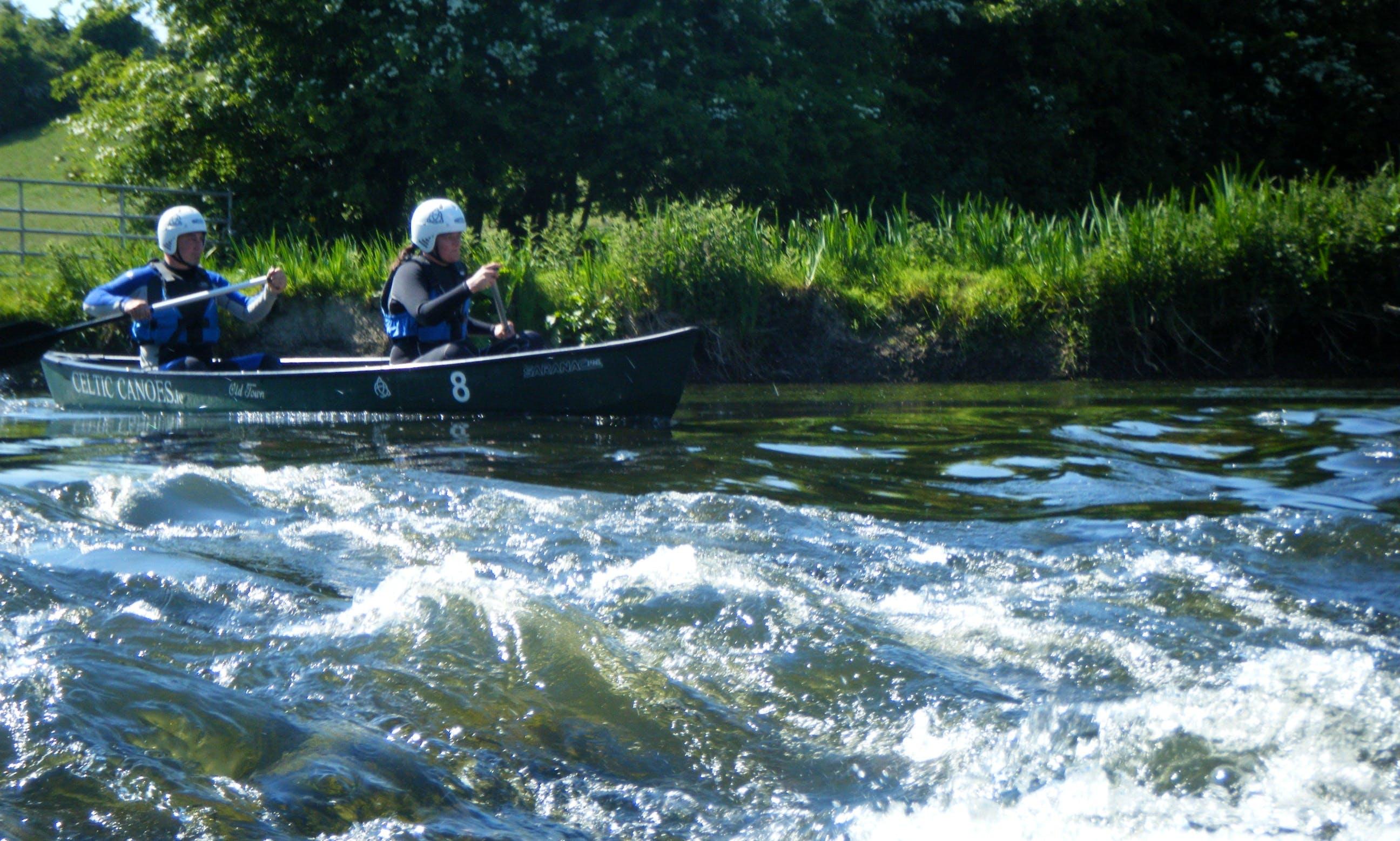 Amazing Canoe Trip in Geashill, Ireland